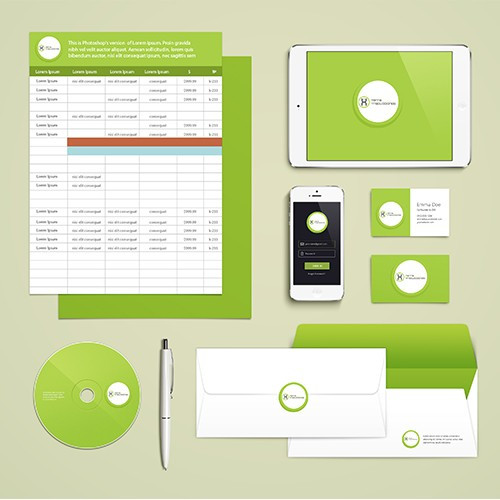 corporate identity and branding by a pro design and development company