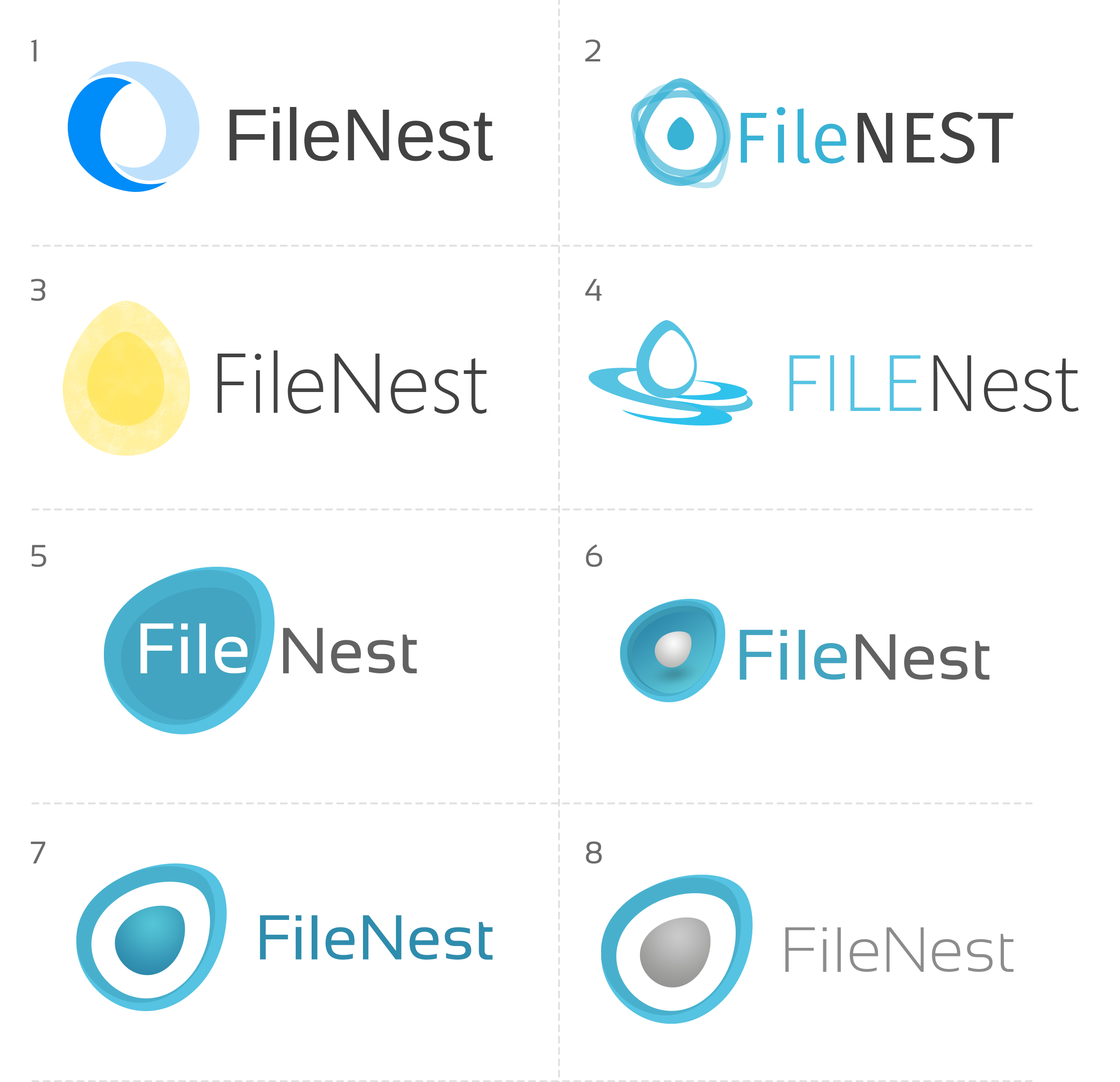 Filenest Logo Concepts