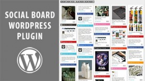 WordPress Social Board