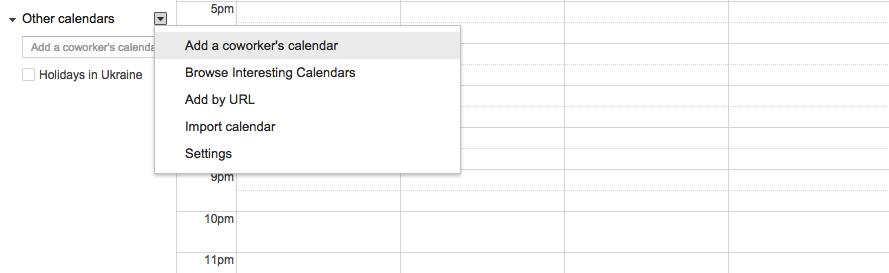 Add a Calendar to Google Calendar