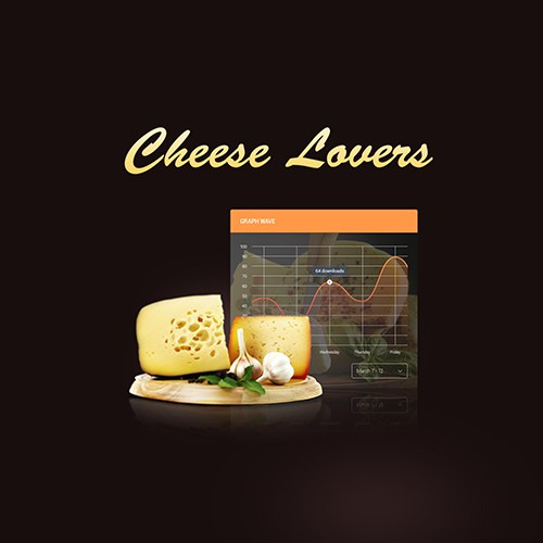Cheese Lovers Website Design