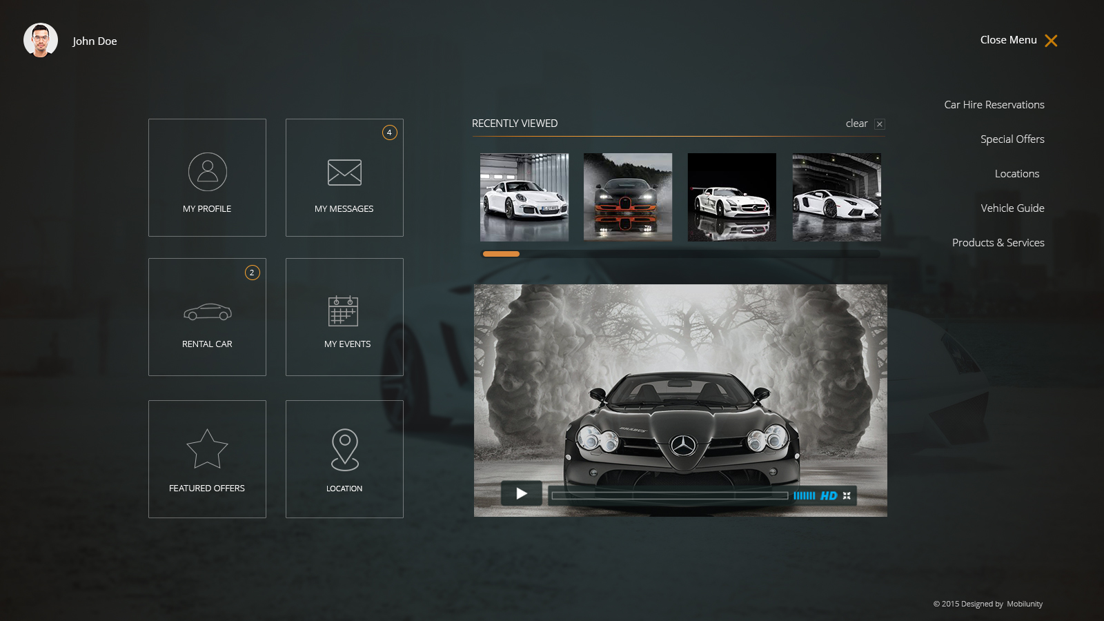 Car Rental Website Design And Development