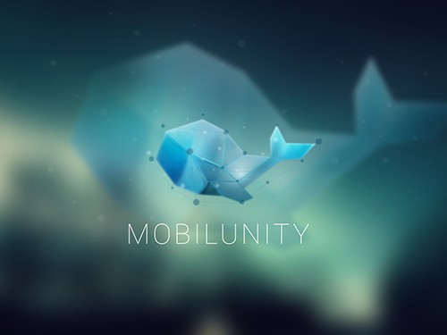Mobilunity Evolution of logo