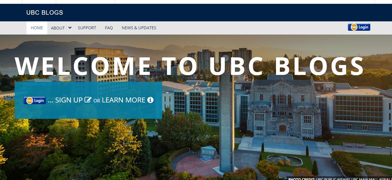 UBC Blogs