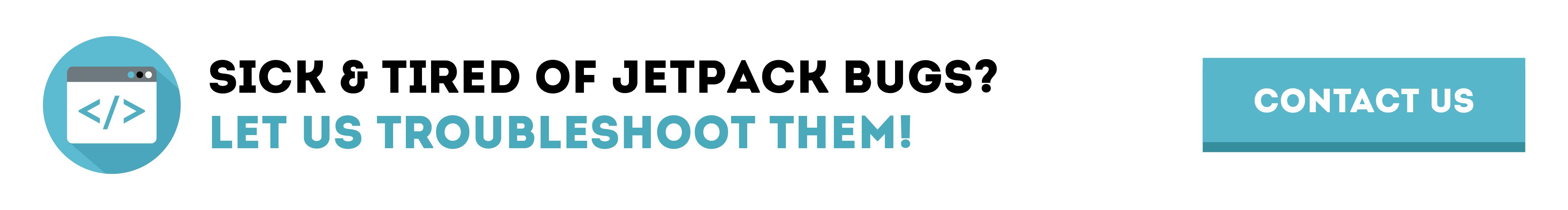 jetpack bugs