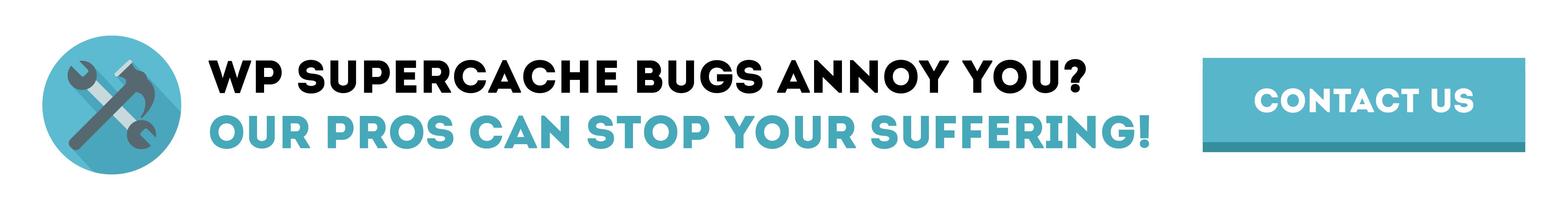 wp supercache bugs
