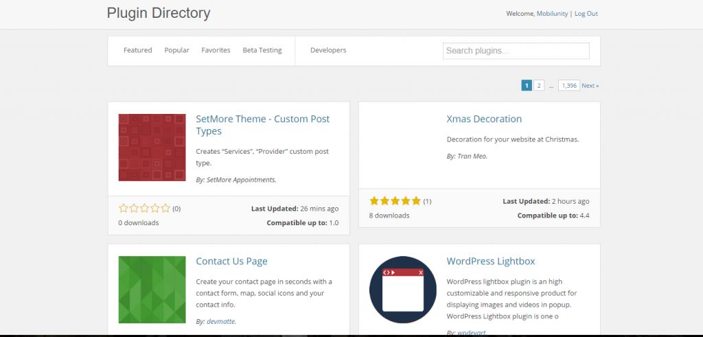 plugin development wordpress