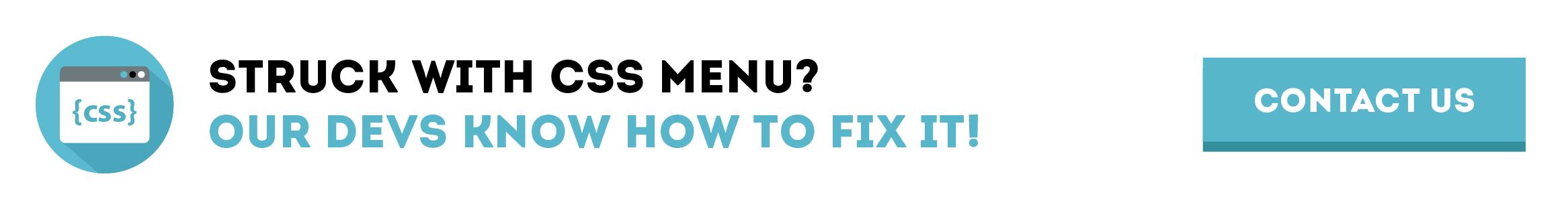 css menu tutorial