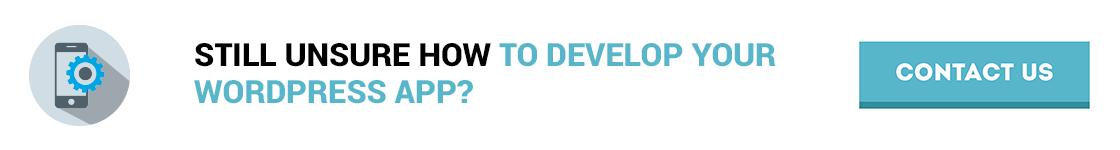 wordpress mobile app development