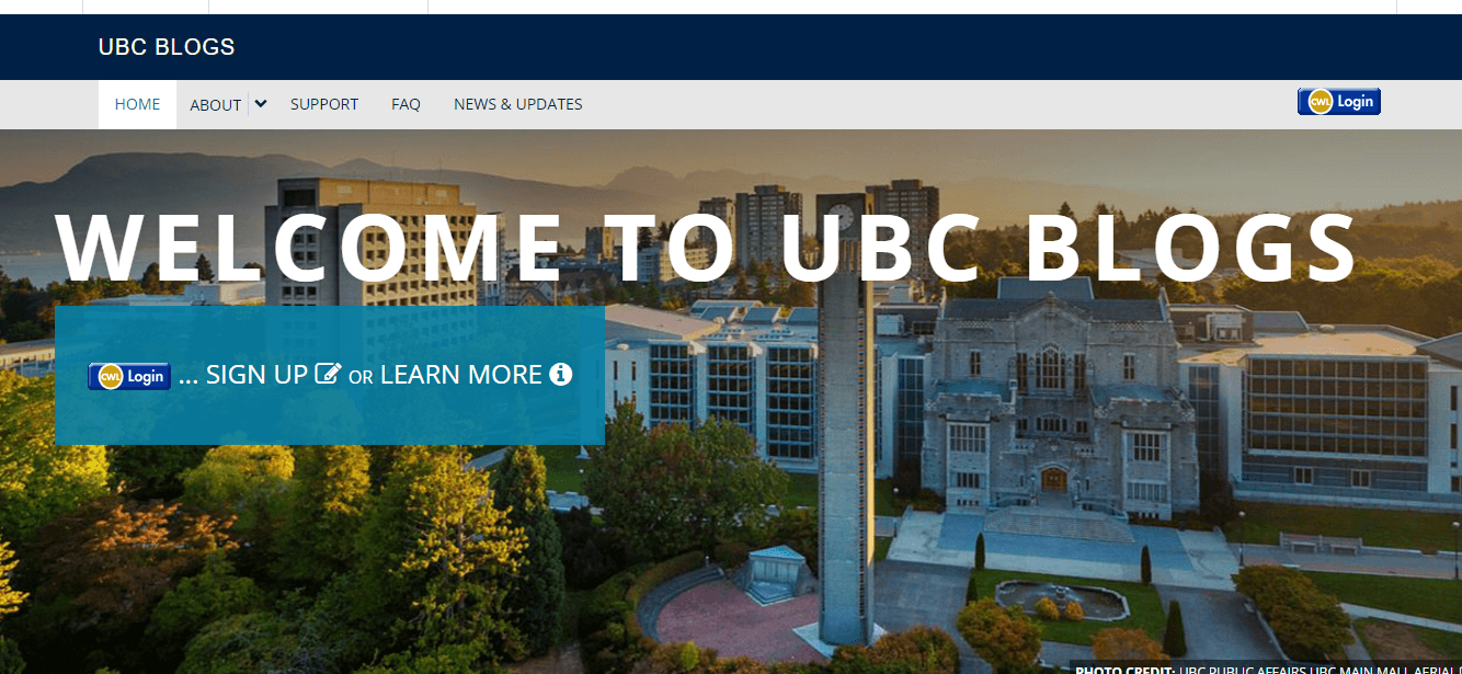 UBC Blogs