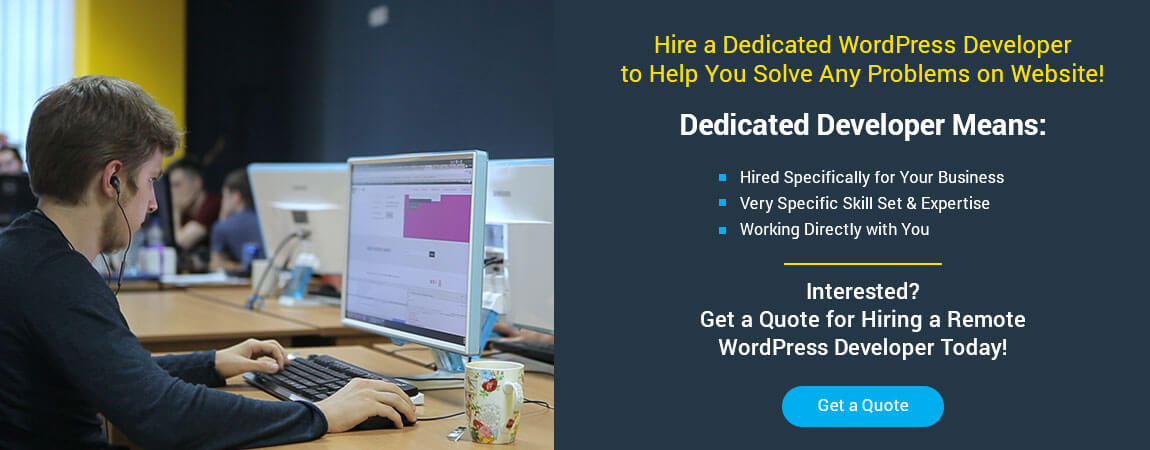 hire wordpress developer if wordpress can't access wp-admin