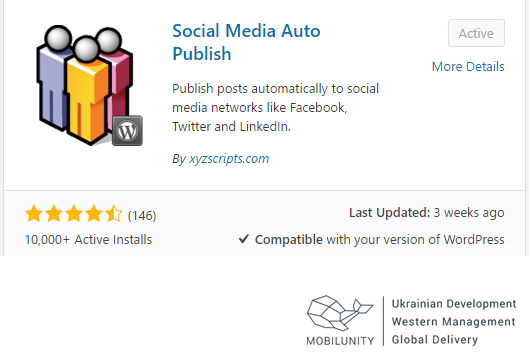 social media auto publish wp plugin