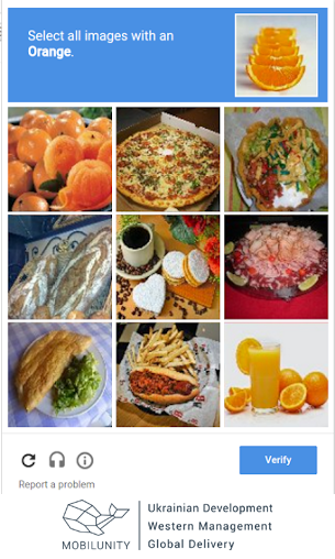 picture captcha form
