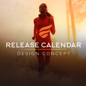 Fashion Website Design of Sports Release Calendar