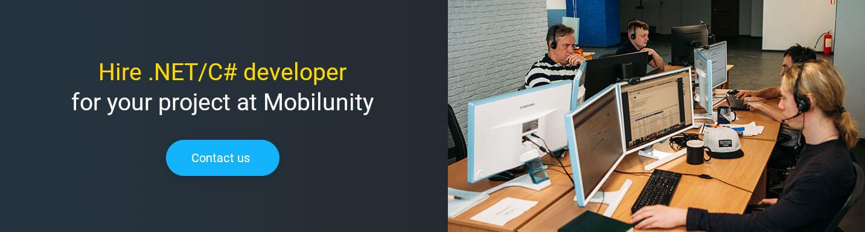 Hire .NET developer for your team