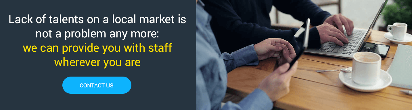 Mobilunity offers high quality outstaffing solutions