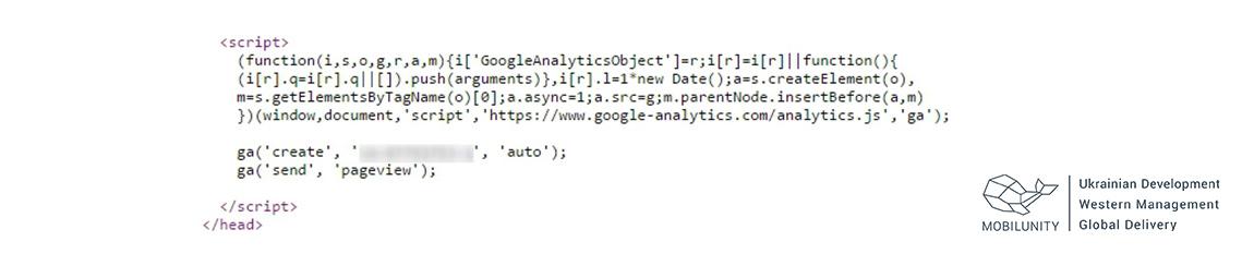 Setting Up the GA Tracking Code to a WordPress Wesite