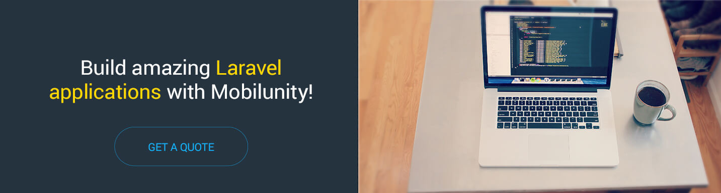 hire Laravel developers from Mobilunity