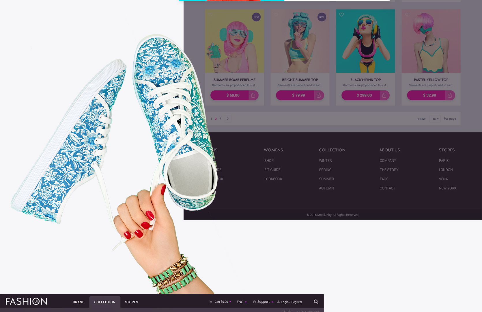 Best fashion ecommerce sites 2018