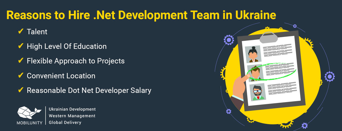 reasons to hire .net development team