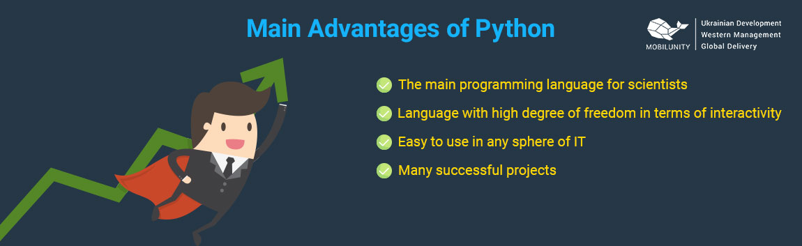 reasons why Python teams use it