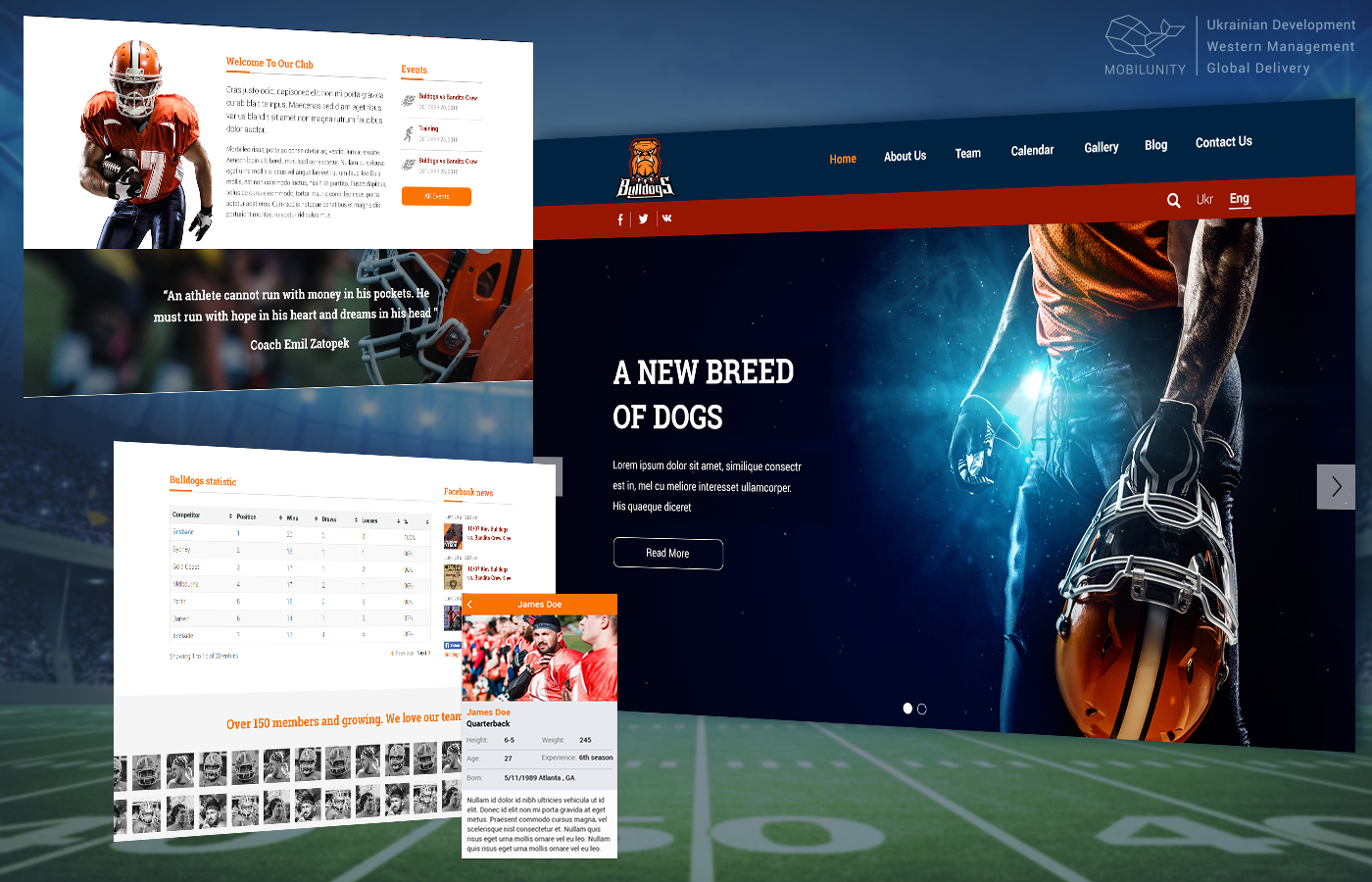 Sports Web and Mobile Development for Startups