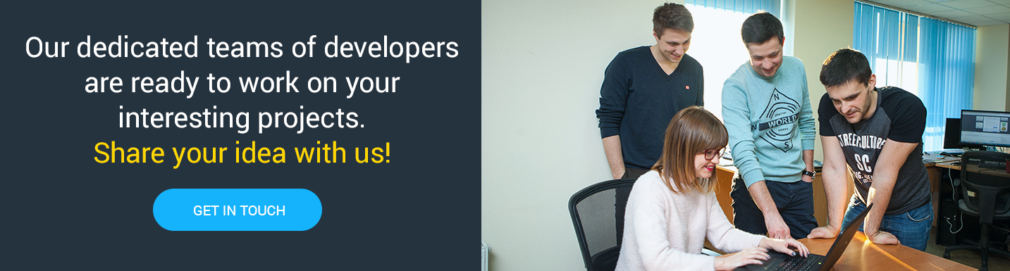 Hire our dedicated teams of developers to create magic by coding together