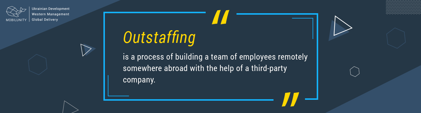 outstaffing meaning