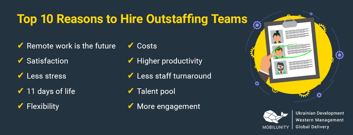 reasons to hire outstaffing team