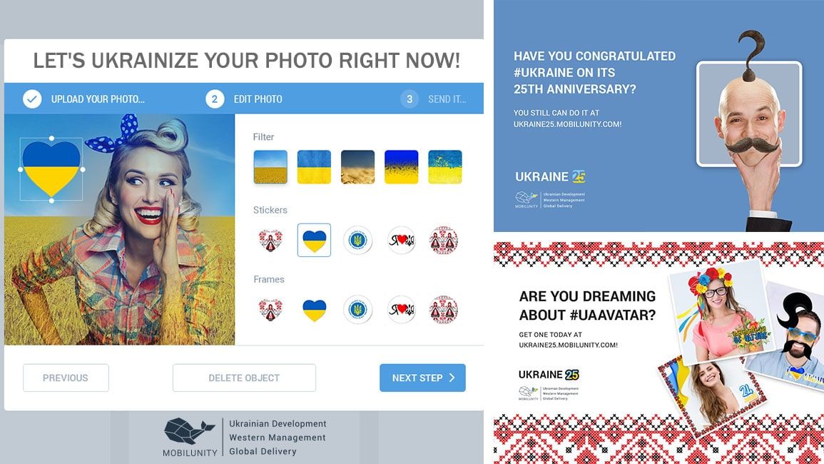 Digital Avatar Creator for Ukrainians
