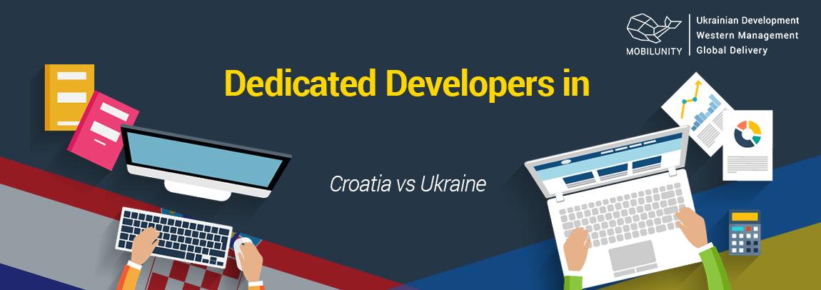 Croatia developer vs Ukrainian developer