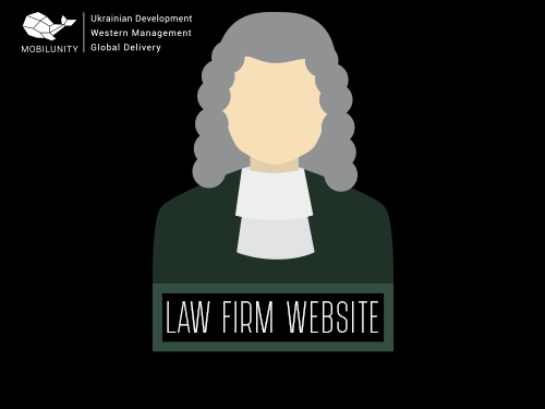 law firm website development by Mobilunity dedicated developers