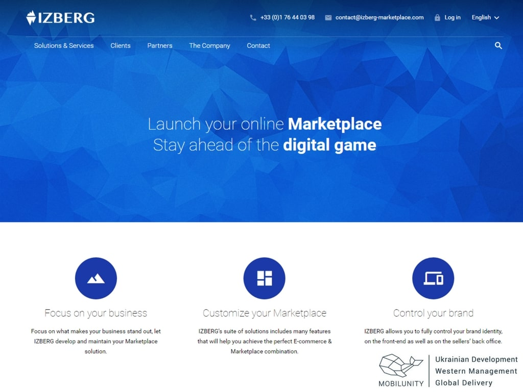 build a marketplace website with izberg, where you combine a marketplace and ecommerce