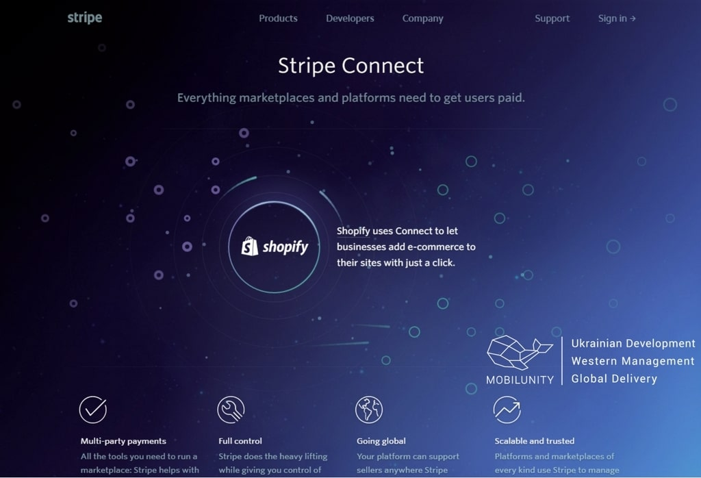 create a marketplace website with stripe, improving your payment process