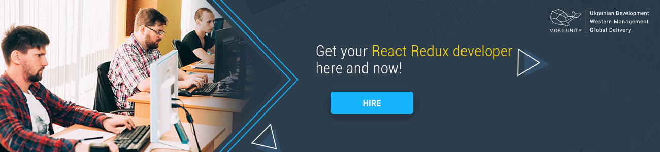 hire React Redux developer at Mobilunity