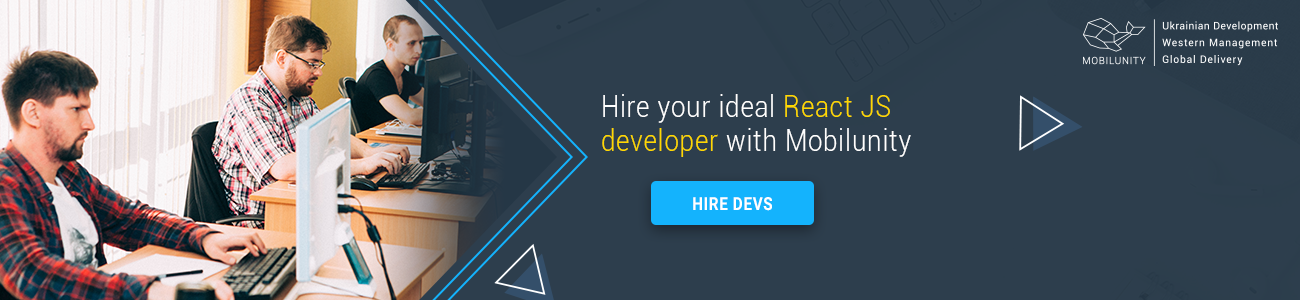 hire react team at Mobilunity