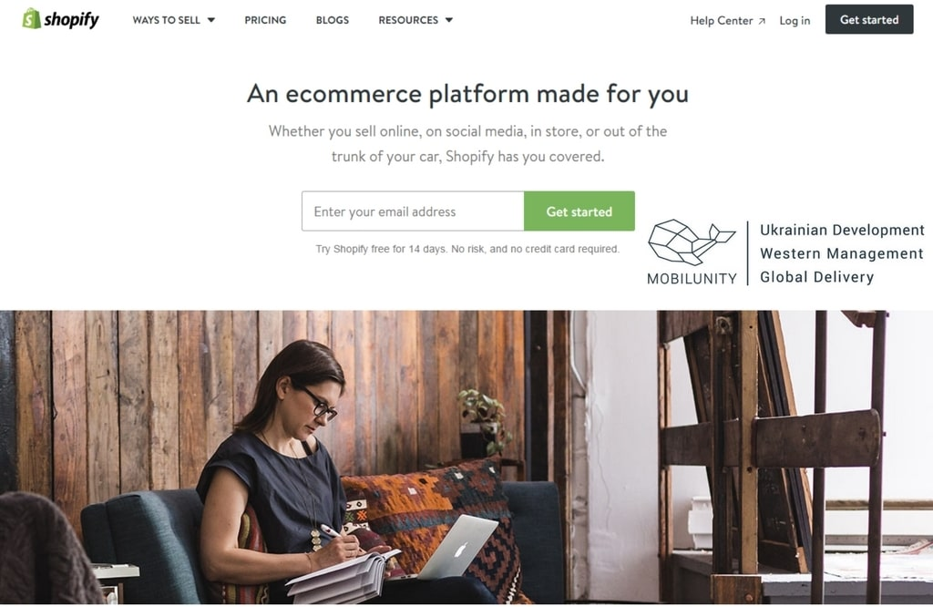 shopify as a variant to build marketplace website according to your requirements
