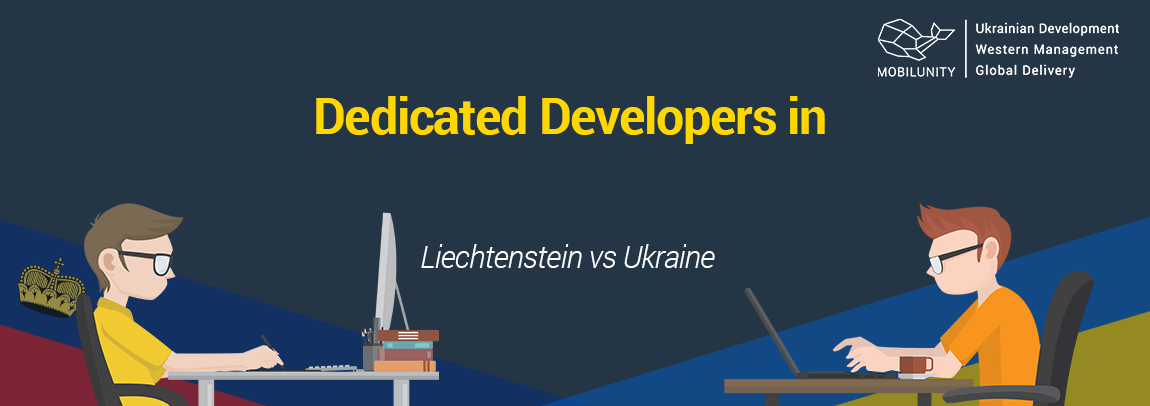 Liechtenstein developer vs Ukrainian one