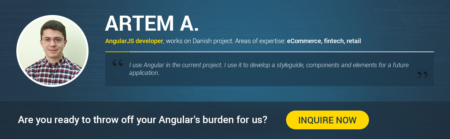 find angularjs developer in Ukraine