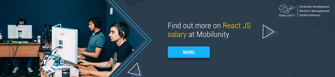 find out more about react salary at Mobilunity