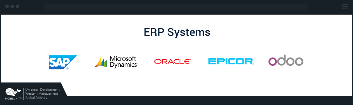 ERP Systems used by Odoo developers