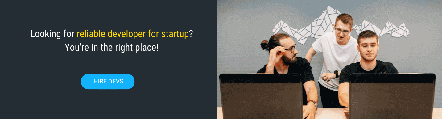 find developer for startup in mobilunity