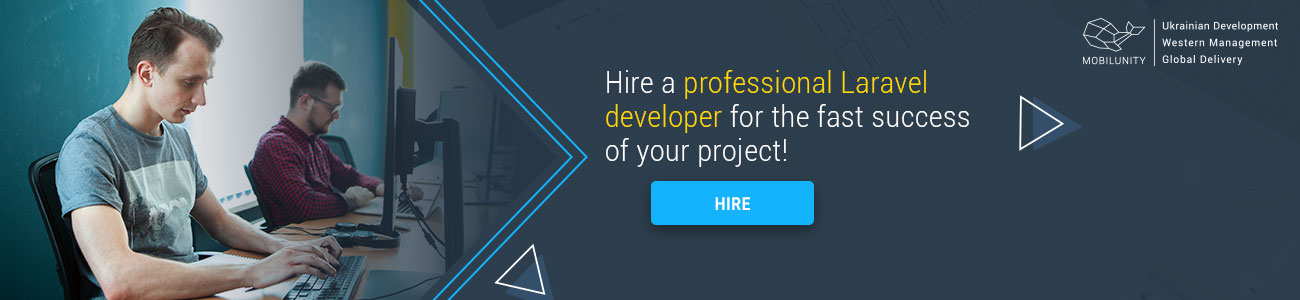 hire Laravel team at Mobilunity
