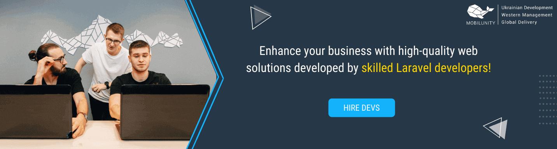 hire laravel developer with mobilunity