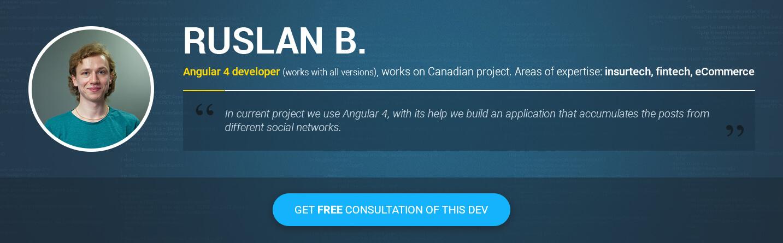 Angular JS developers Ruslan