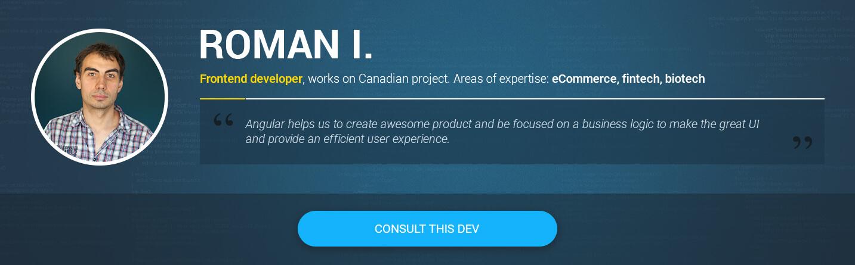 AngularJS 4 developer for hire Roman I.