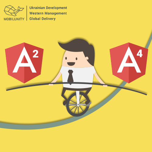 AngularJS vs Angular 4 developers for hire in Ukraine