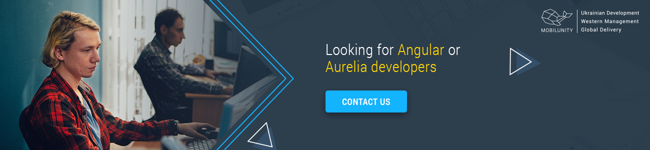 Aurelia or Angular developers for your project