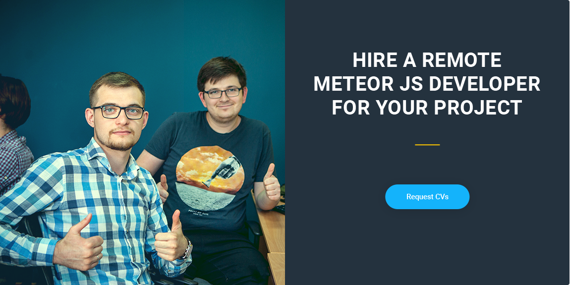 Hire Meteor JS developer in Ukraine