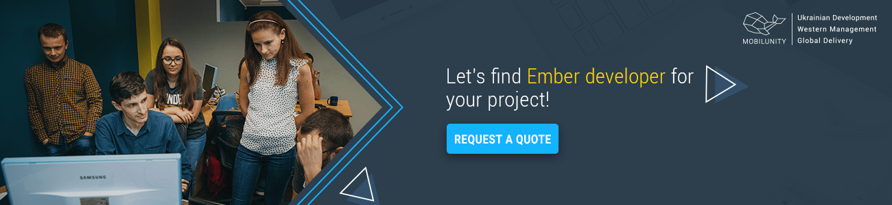 ember.js developer for your project with the best cost